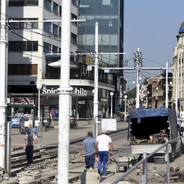 Završni radovi na popravku tramvajske pruge
