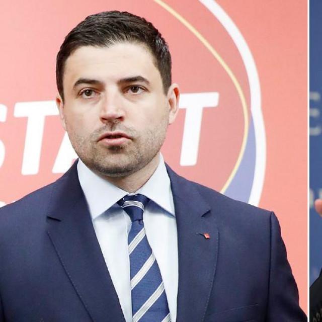 Davor Bernardić, Andrej Plenković