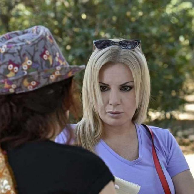Novinarka Slobodne Dalmacije u razgovoru s javnom djelatnicom iz splitskog Đardina