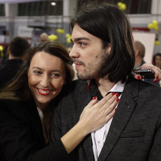Vladimira Palfi i Ivan Vilibor Sinčić<br />