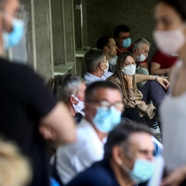 Testiranje na koronavirus u Beogradu