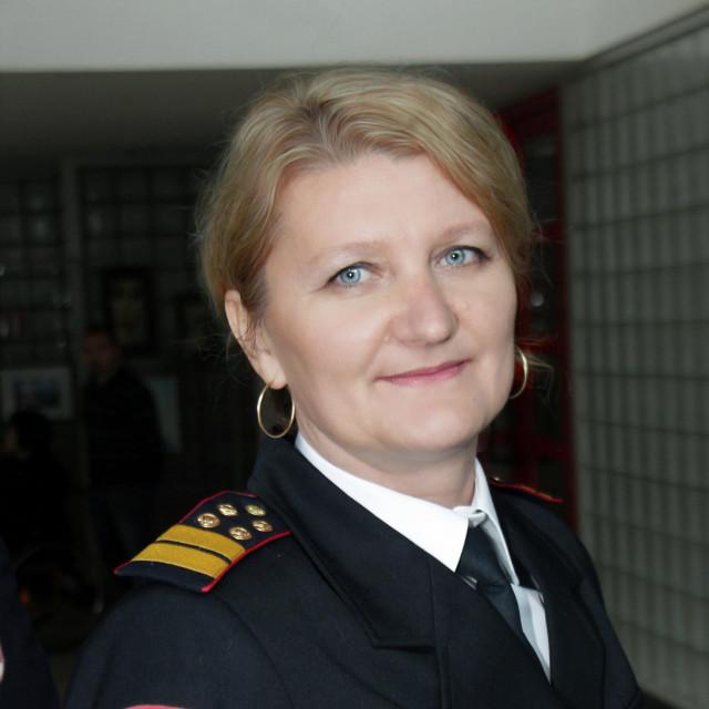 Jasminka Jakupec, v.d.zapovjednice JVP Koprivnica