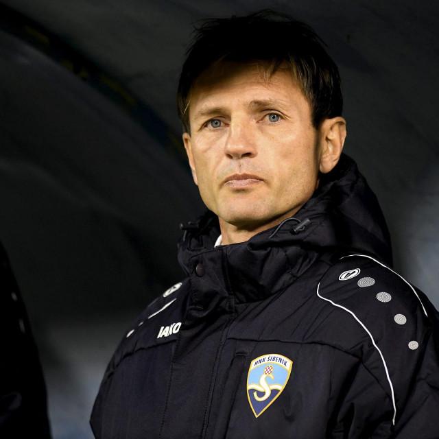 Trener Sibenika Krunoslav Rendulić