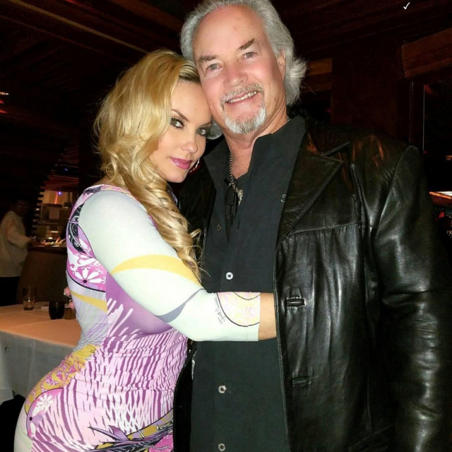 Coco Austin s ocem Steveom
