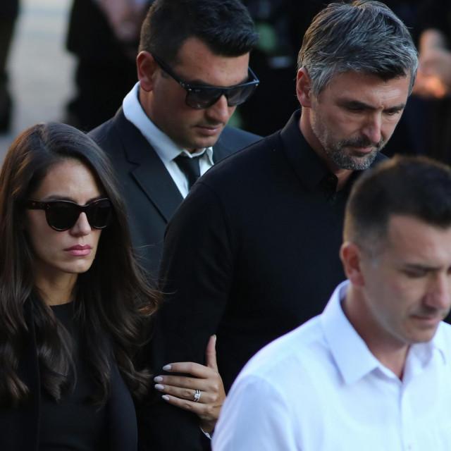 Goran sa suprugom Nives Ivanišević<br />