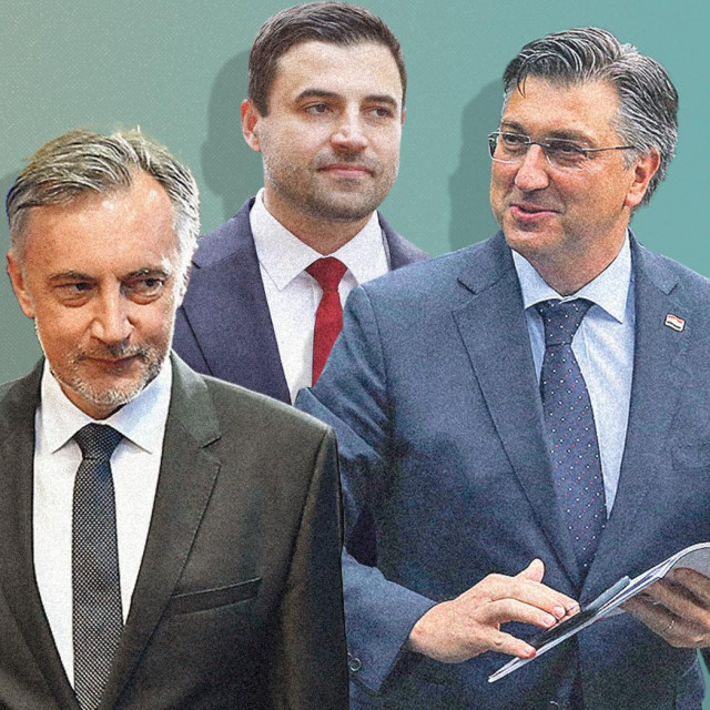Miroslav Škoro, Davor Bernardić i Andrej Plenković
