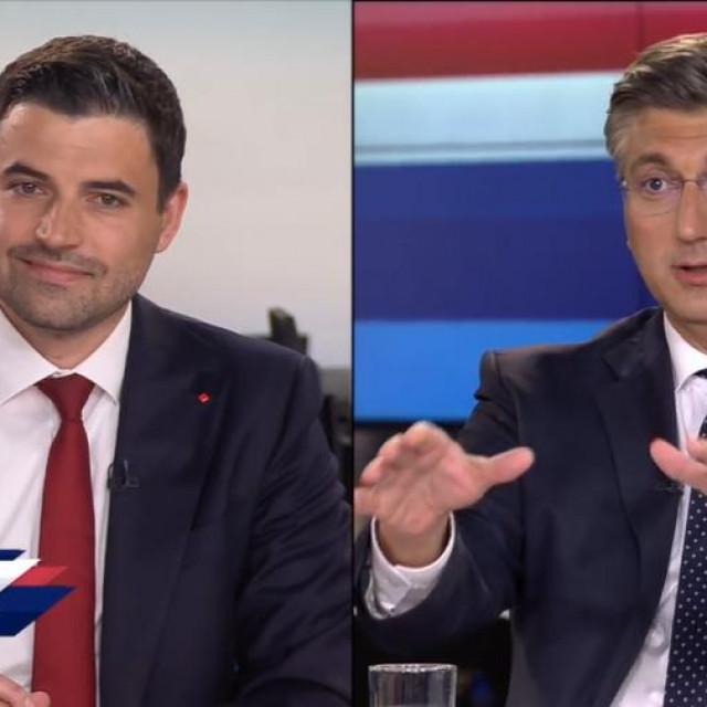 Davor Bernardić i Andrej Plenković