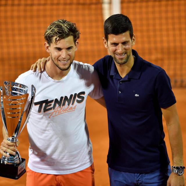 Dominic Thiem i Novak Đoković