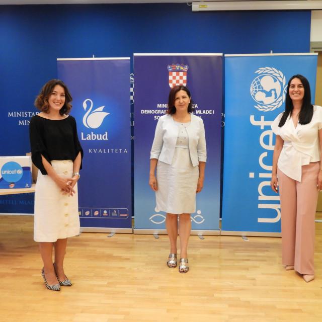 Marija Pletikosa, Milica Damjanović i Ana Dautović