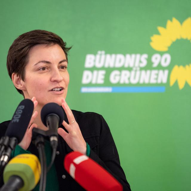 Ska Keller, liderica zastupničke skupine Zelenih u Europskom parlamentu