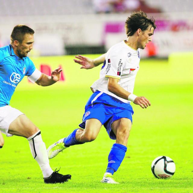 Ante Vukušić iz vremena dok je igrao za Hajduk