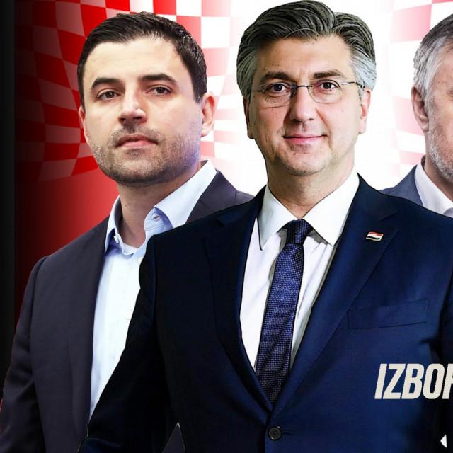 Plenković, Bernardić, Škoro specijal