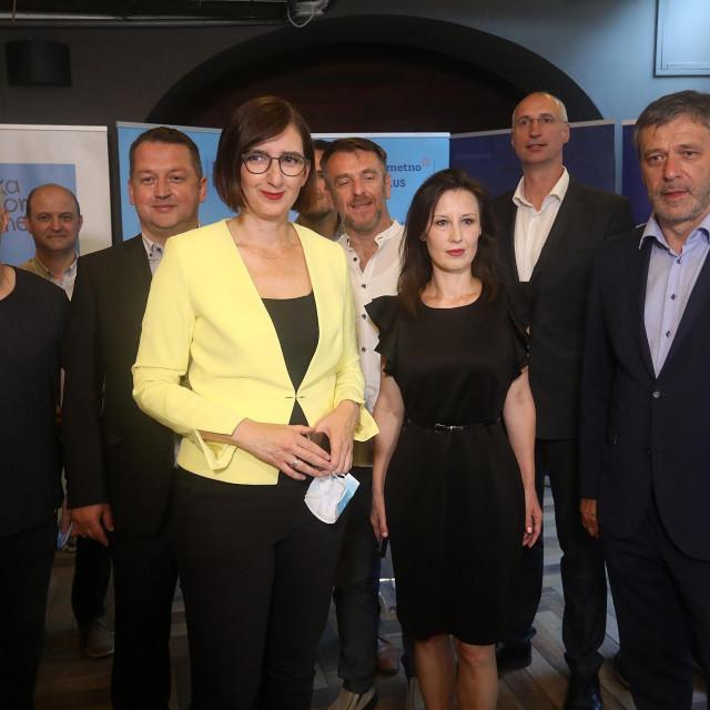Marijana Puljak, Dalija Orešković i Davor Huić