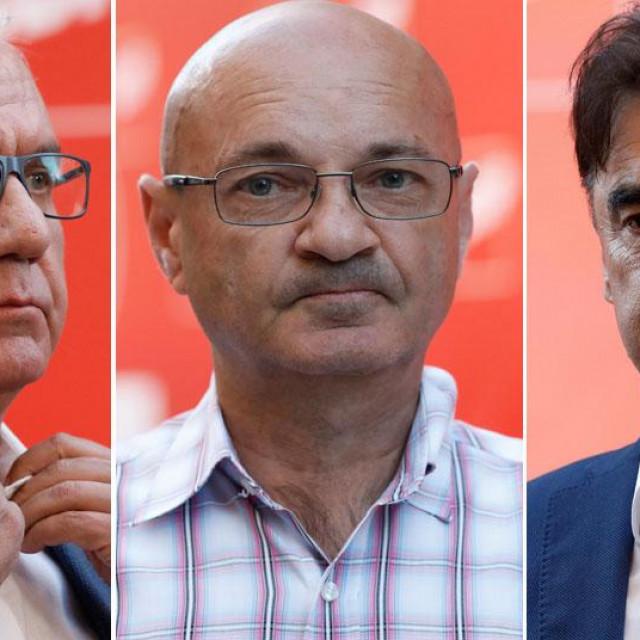 Rajko Ostojić, Goran Aleksić i Branko Grčić