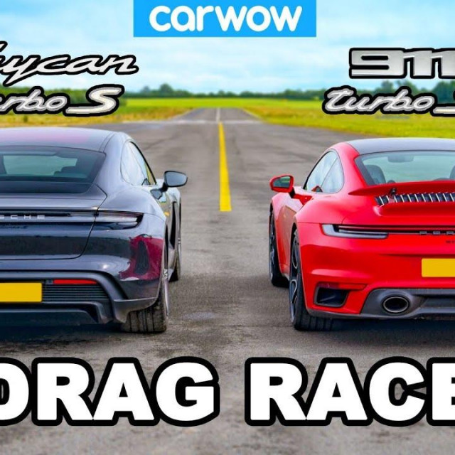 Turbo S vs Taycan
