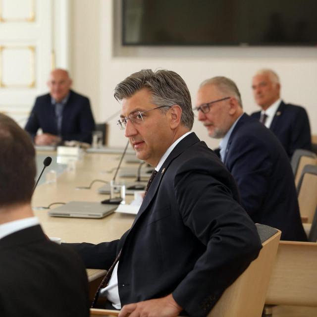 Andrej Plenković i Davor Božinović<br />