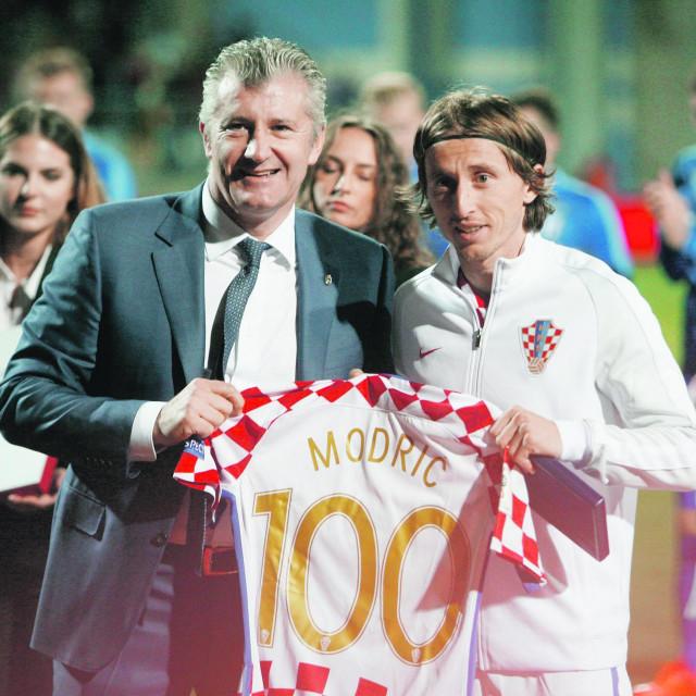 Davor Šuker i Luka Modrić obilježili su hrvatski nogomet