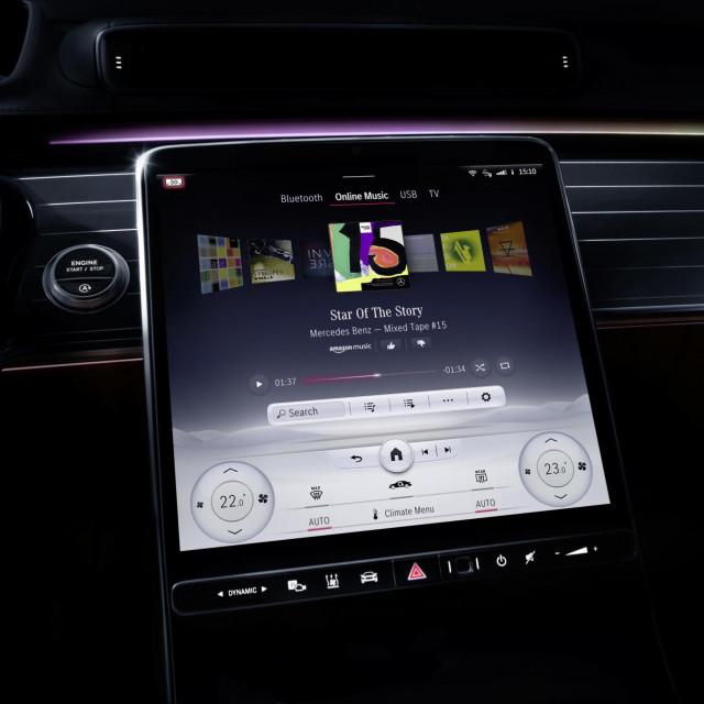 Mercedes-Benz S-Klasse, My MBUX (Mercedes-Benz User Experience) // Mercedes-Benz S-Class, My MBUX (Mercedes-Benz User Experience)
