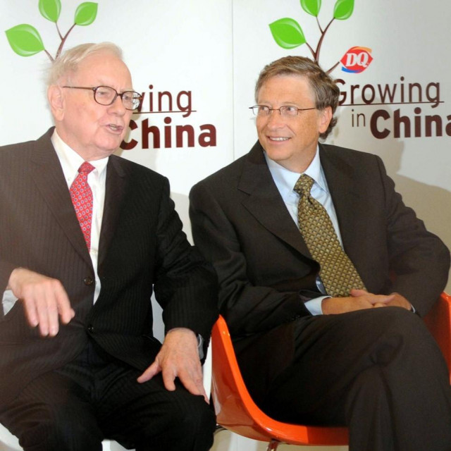 Warren Buffet i Bill Gates