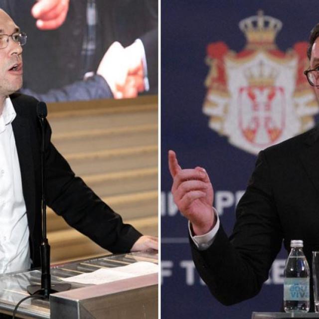 Davor Ivo Stier i Aleksandar Vučić