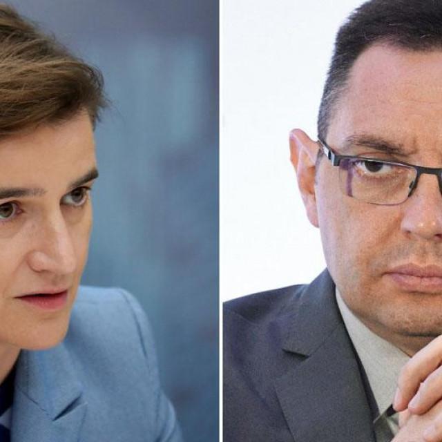 Ana Brnabić i Aleksandar Vulin