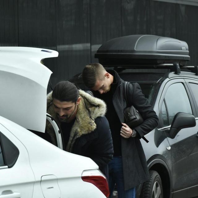 Zagreb, 240120.<br /> Dani Olmo odlazi u Njemacku zbog prelaska u klub Leipzig.<br />