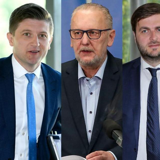 Zdravko Marić, Davor Božinović, Tomislav Ćorić, Vili Beroš, Tomo Medved