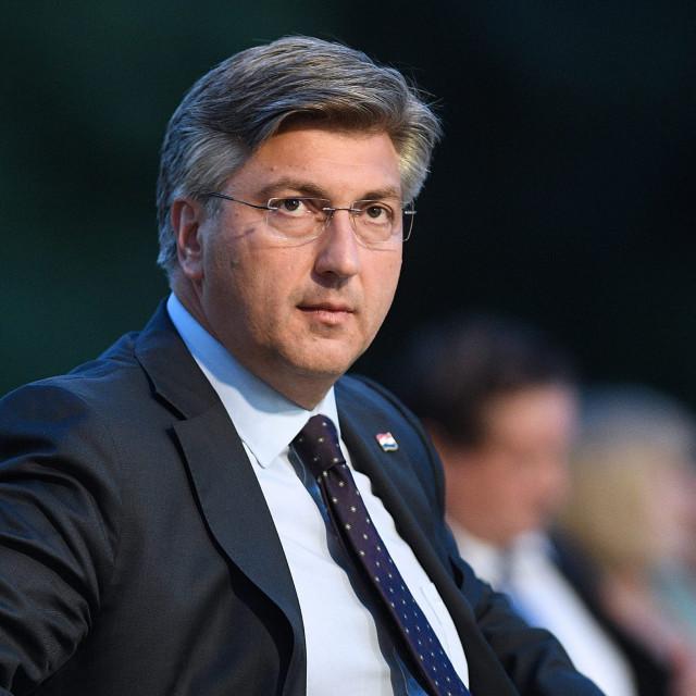 Prime Minister Andrej Plenkovic