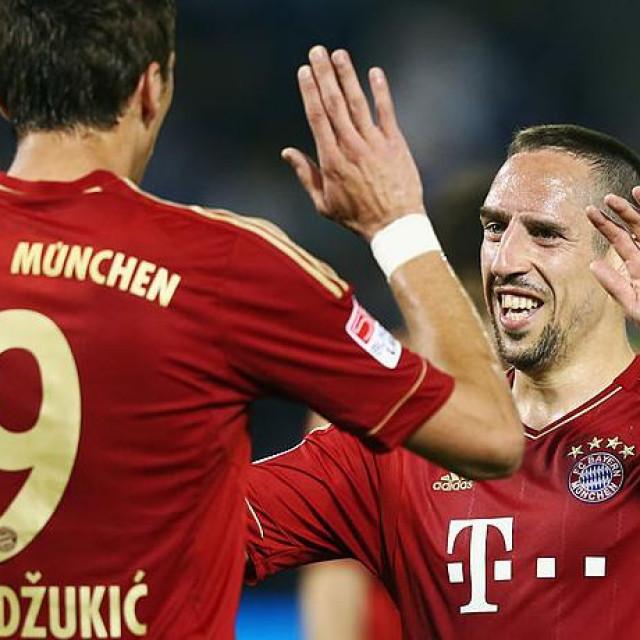 Mario Mandžukić i Franck Ribery sjajno su surađivali u Bayernu