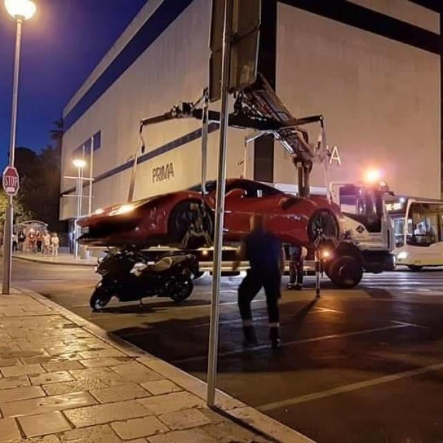 Ferrari 488 Pista u Splitu