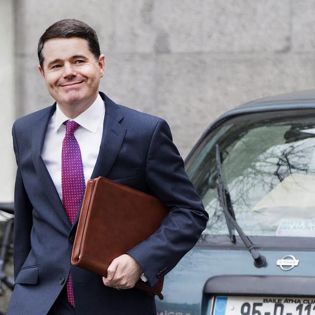 Irski ministar financija Paschal Donohe