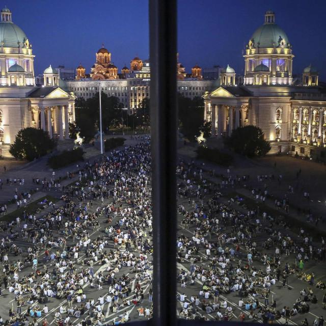 Prosvjed u Beogradu / Arhiva