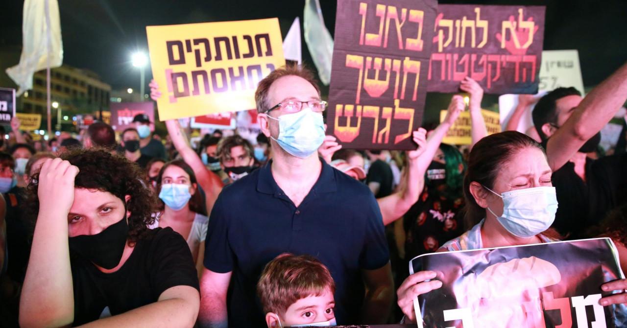 Tisuće Izraelaca na ulicama: Prosvjeduju protiv ekonomske politike u koronakrizi