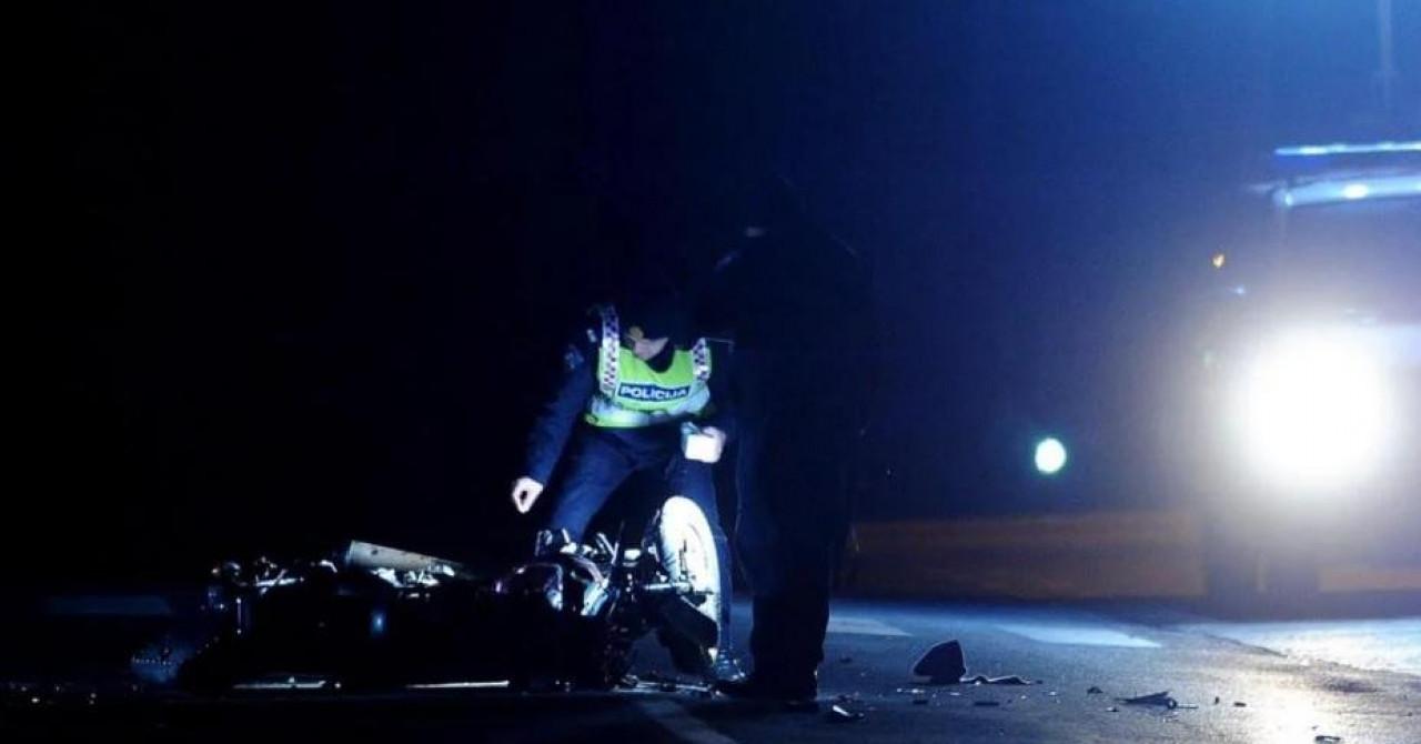 Četiri motocikla sinoć se sudarila u Sukošanu, trojica muškaraca zadobila teške tjelesne ozljede