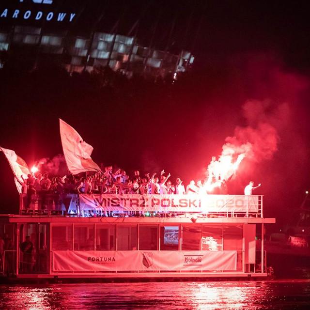 Domagoj Antolić proslavio je novi naslov prvaka Poljske