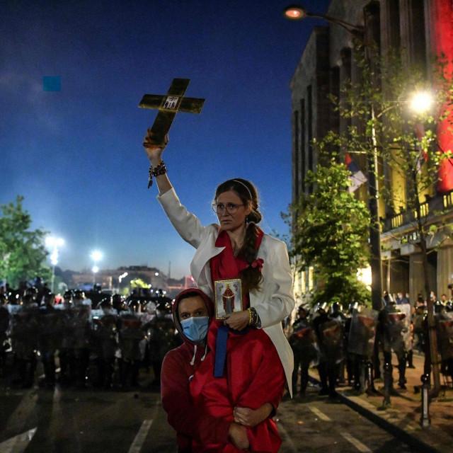 Prosvjed u Beogradu