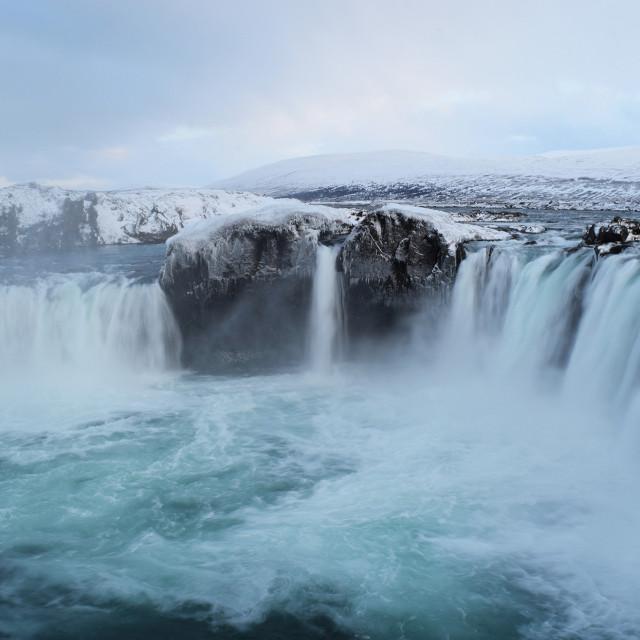 Goðafoss je vodopad na sjeveru Islanda