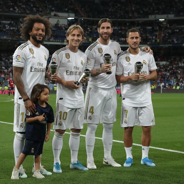 Luka Modrić posebno je hvaljen u posljednjim susretima