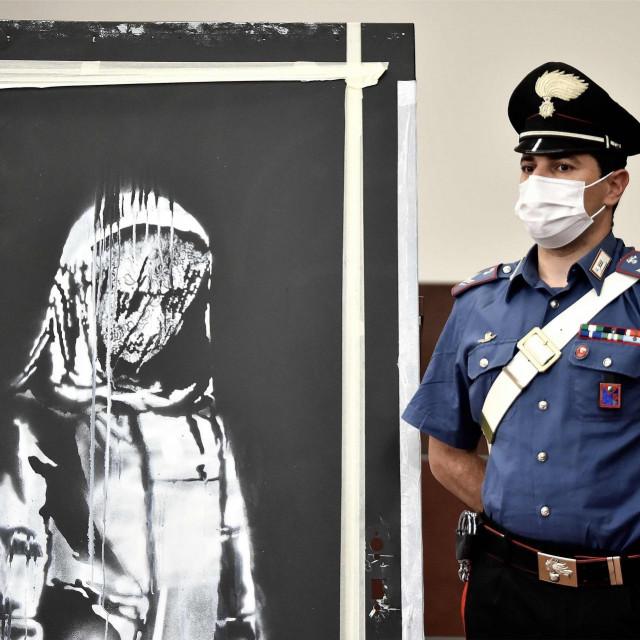 """Slika """"Banksyjeva vrata"""""""