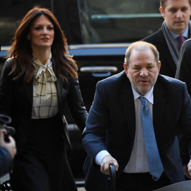 Harvey Weinstein na ulasku u sud početkom godine