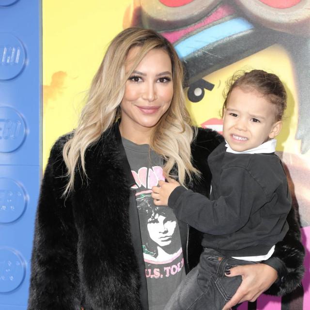 Naya Rivera i sin Josey snimljeni u veljači 2019.