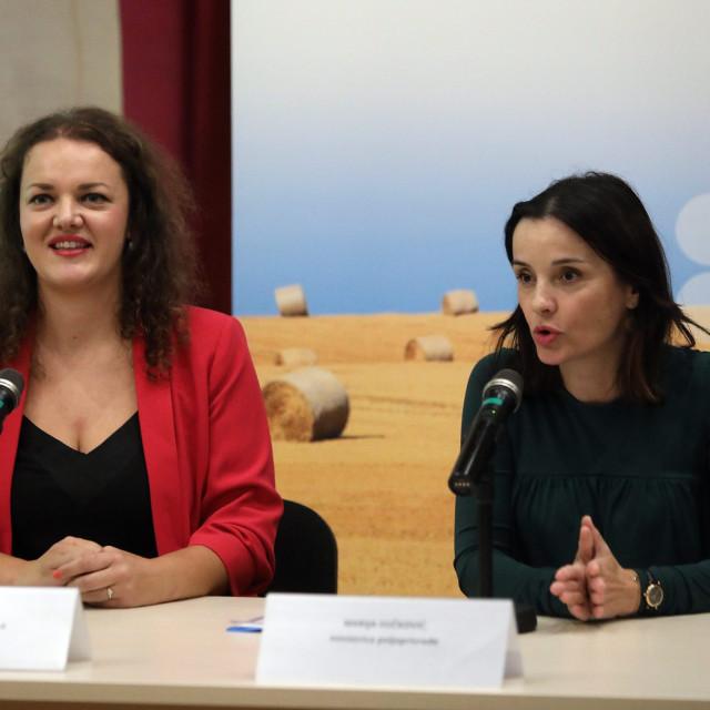 Ravnateljica agencije Matilda Copić i ministrica Marija Vučković