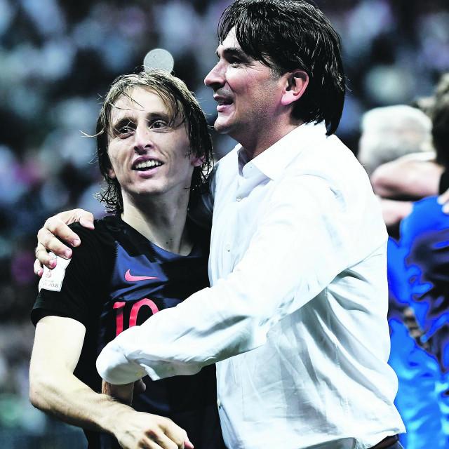 Luka Modrić i Zlatko Dalić dugo će pamtiti trenutak kad su izborili finale