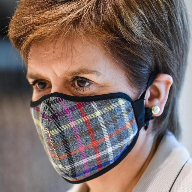 Škotska prva ministrica Nicola Sturgeon