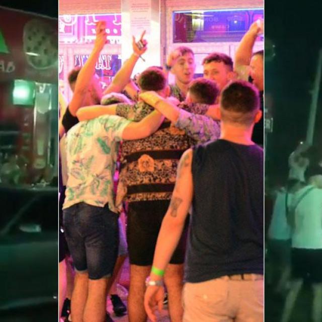 Pijani turisti na Mallorci