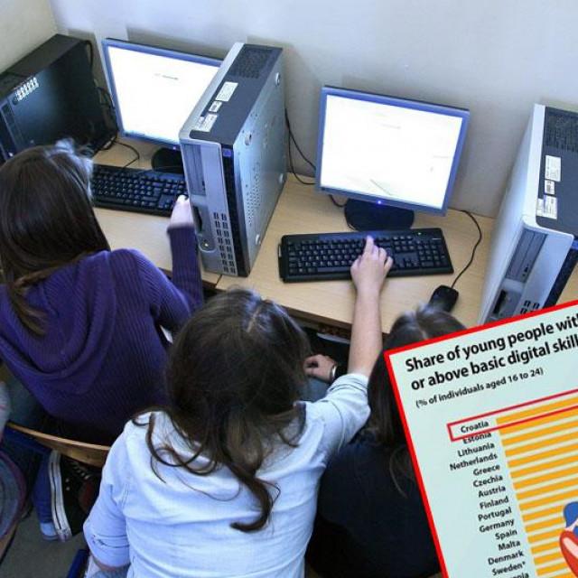 Učenici na računalu
