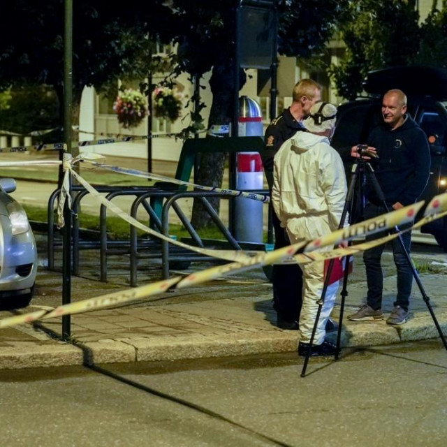 policijski očevid u Sarpsborgu