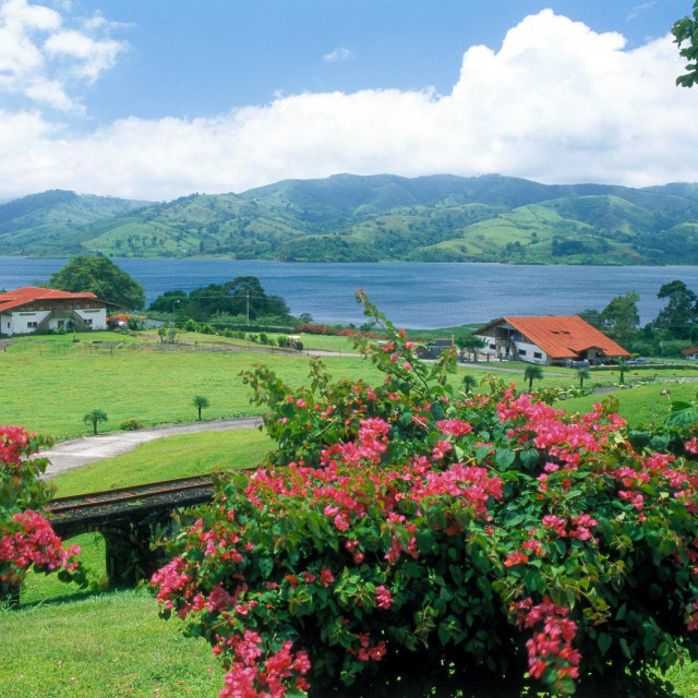 Kostarika, jezero Arenal