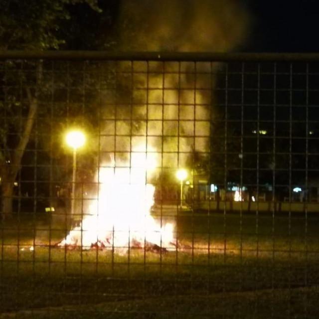 Požar u Utrini