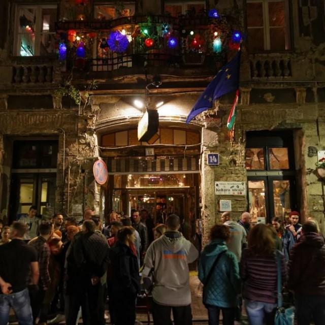 Židovska četvrt, party zona u Budimpešti